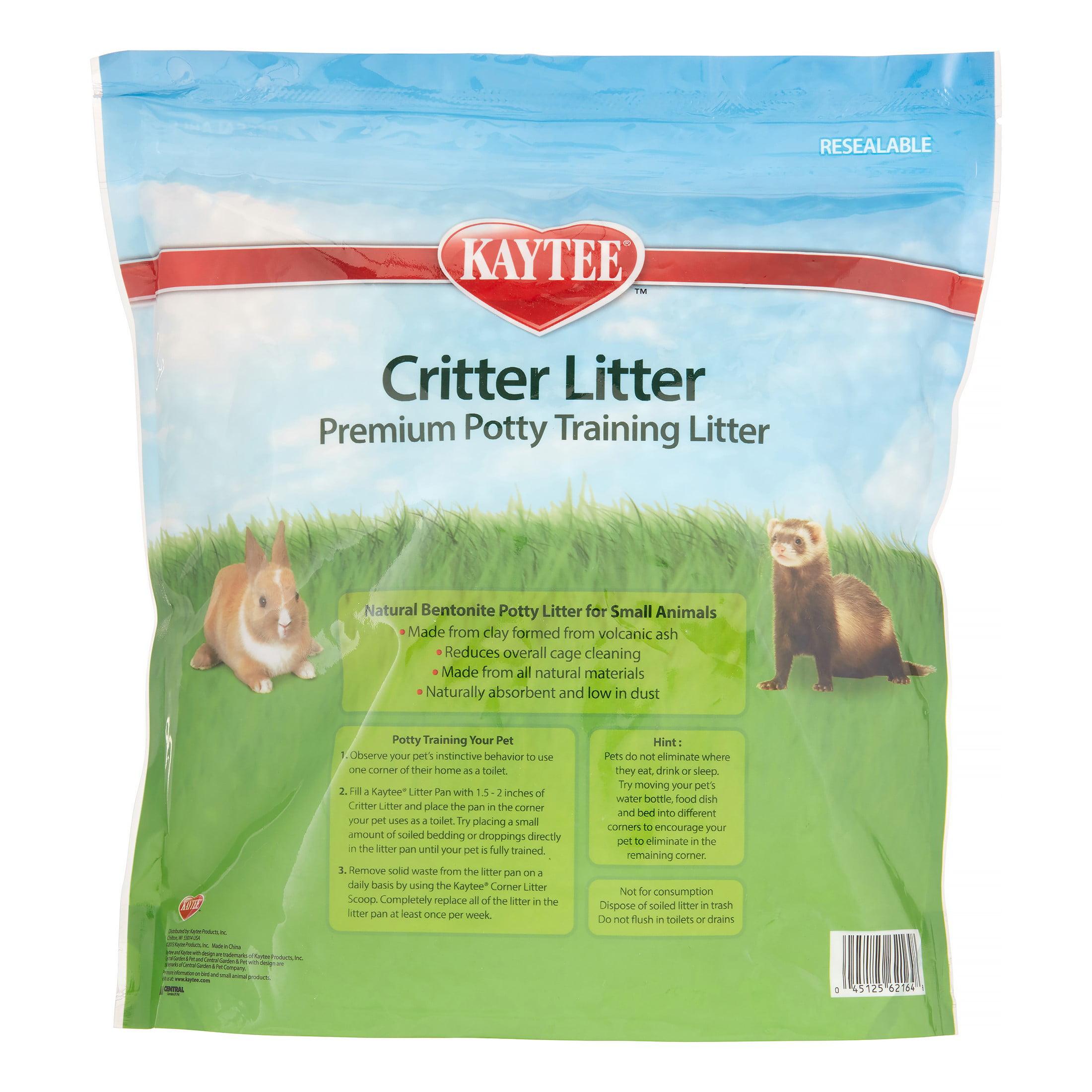 Kaytee Critter Litter Premium Potty Training Pearls, Small Animal Litter,  4-lb