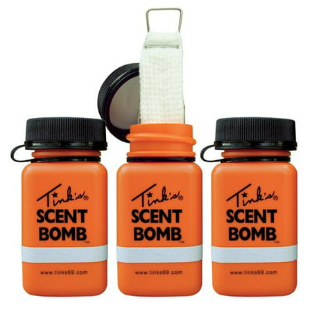 Tink's® Scent Bombs Lure & Cover Scent Dispensers 3 ct Pack