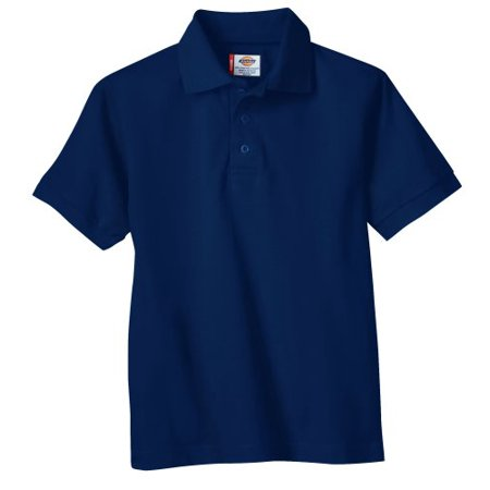 Genuine Dickies Uniform Short Sleeve Pique Polo (Big Boys)