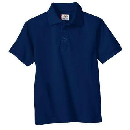 Genuine Dickies School Uniform Short Sleeve Pique Polo (Big Boys)