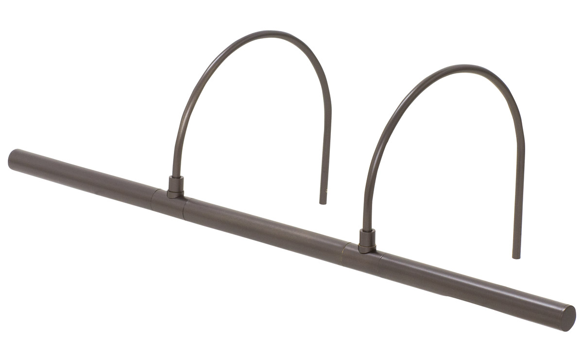 House of Troy APL25-91 Advent 6 watt 25 inch Oil Rubbed Bronze Picture Light Wall Light Profile by House of Troy