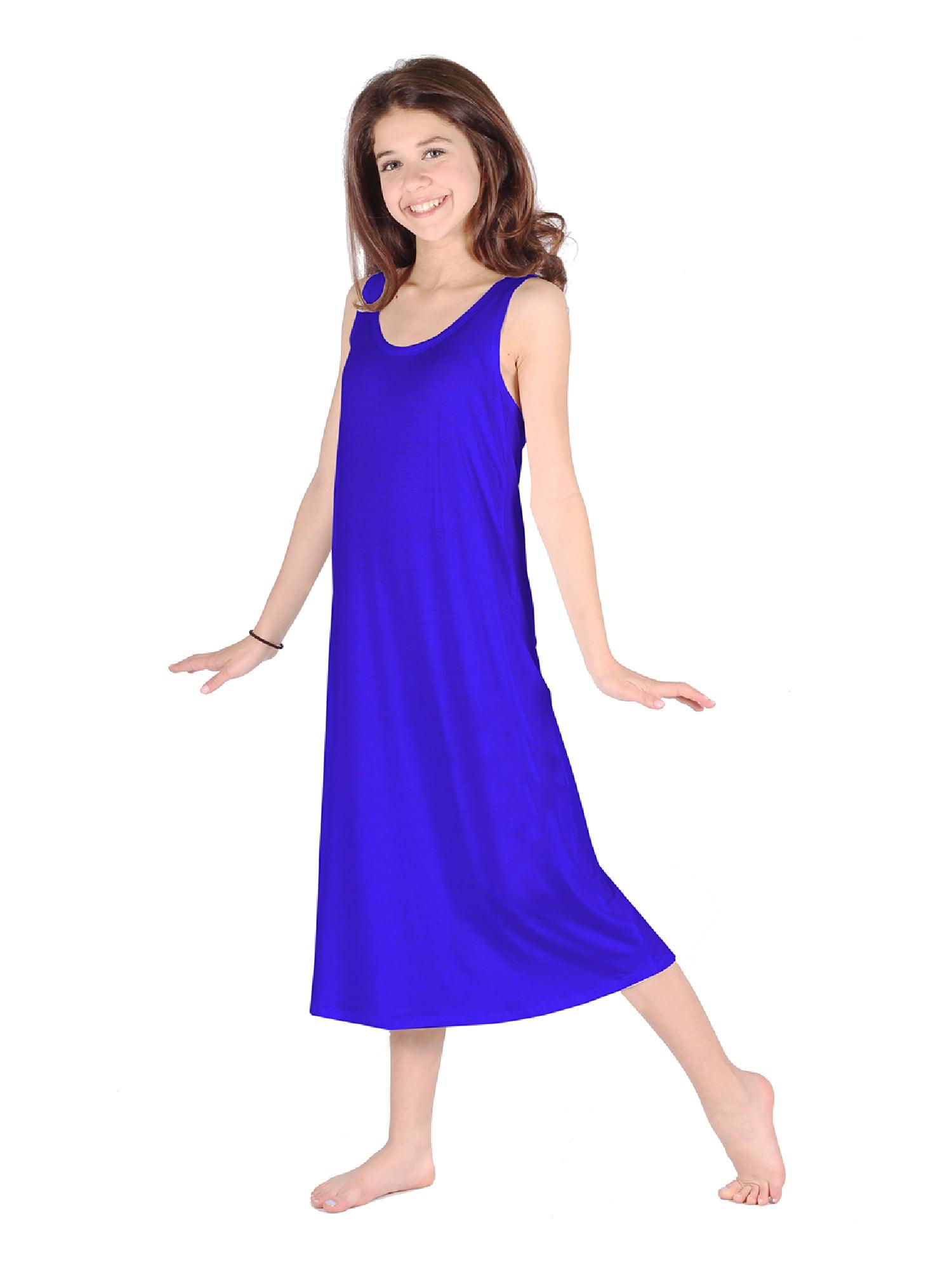Lori Jane Royal Blue Trendy Maxi Dress Big Girls Walmart Com Walmart Com