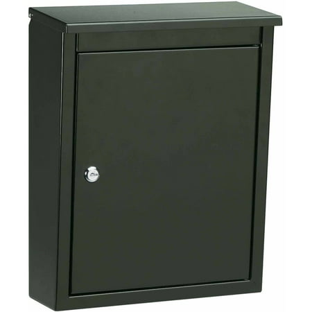 Architectural Mailboxes Soho Locking Wall Mount Mailbox  White