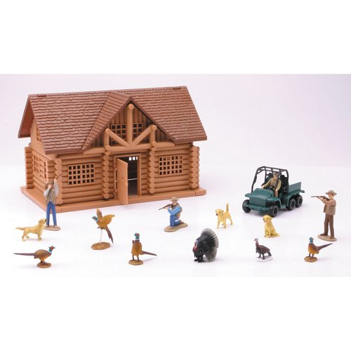 New Ray Hunting Lodge Play Set