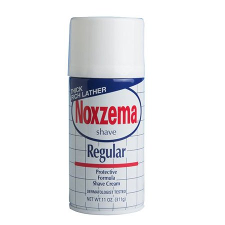 3 Pack NOXZEMA Regular Shave Cream Protective Formula Shaving Cream 11oz -