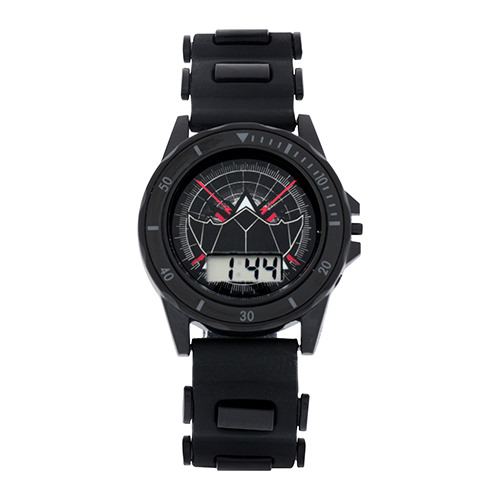 Justice League Flashing Strap LCD Watch