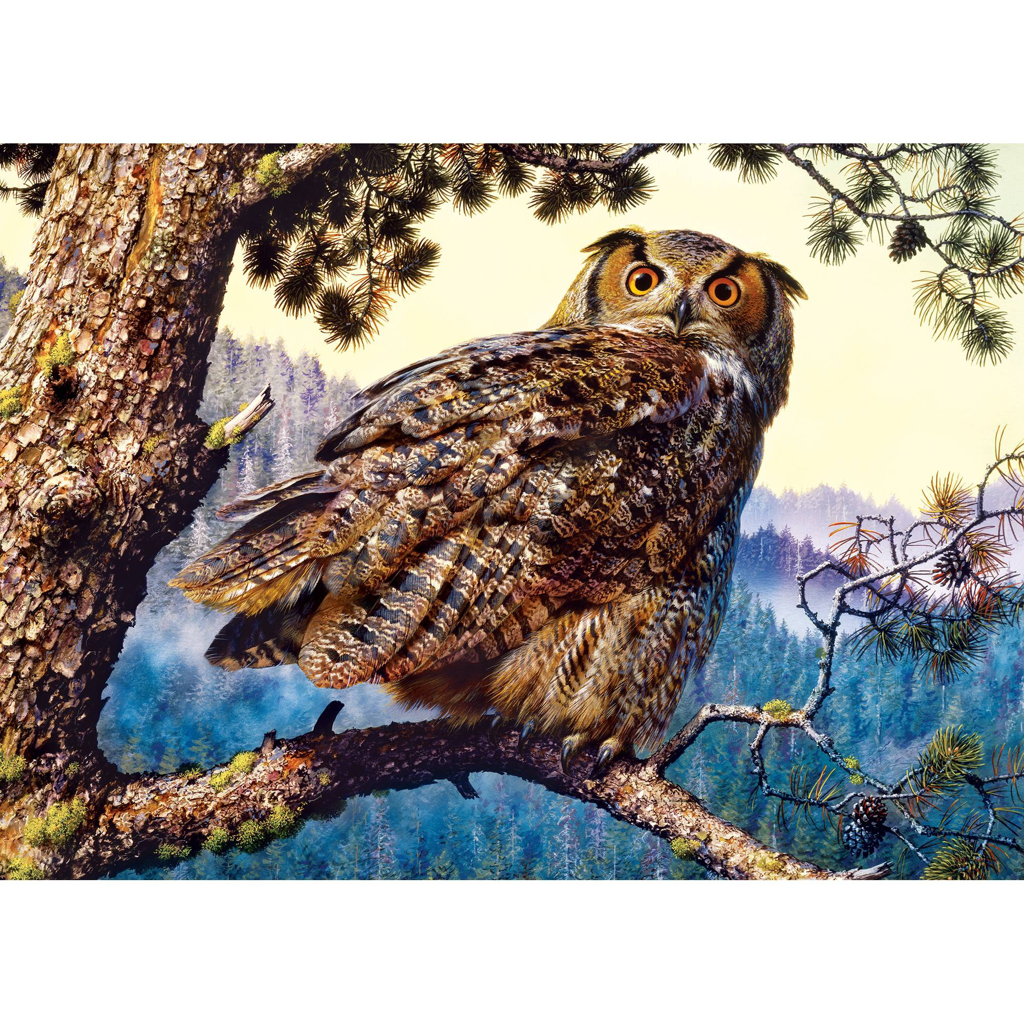 MasterPieces Great Horned Owl 1000 Piece Puzzle
