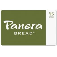 Panera Bread $15 Gift Card
