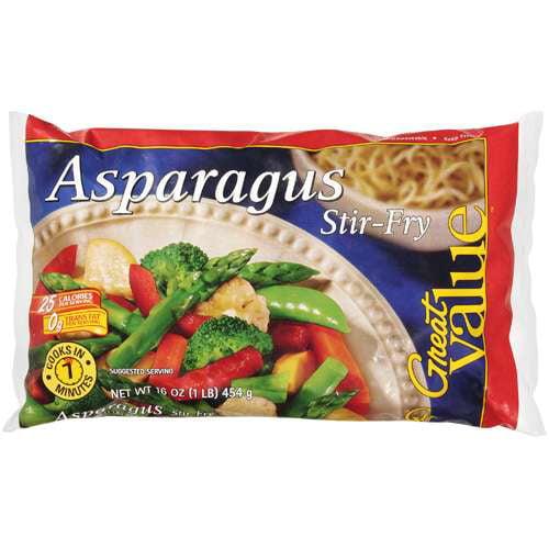 Great Value Asparagus Stir-Fry, 16 Oz