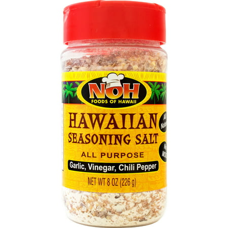 NOH Foods of Hawaii Hawaiian Seasoning Salt- All Purpose, 8 oz