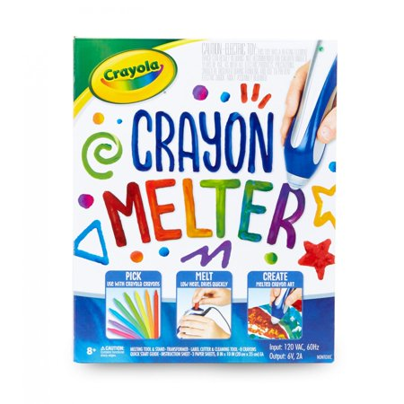 Crayola Crayon Melter, Crayon Melting Art, Craft Supplies, Gift for Kids, Ages 8, 9, 10, - Wood Crafts For Kids
