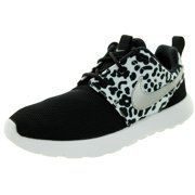 nike roshe one print girl's casual shoes size us 11, regular width, color black/white
