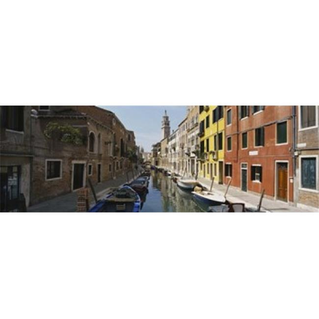 Canal passing through a city  Venice  Italy Poster Print by  - 36 x 12