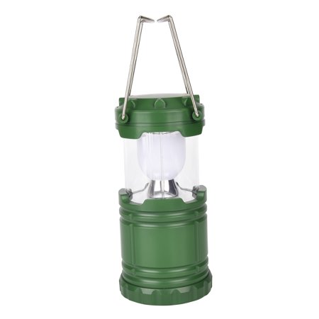 Lightahead Portable Outdoor LED Camping Lantern Equipment - Great for Emergency, Tent Light, Backpacking (Green)