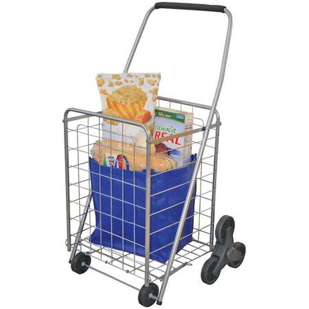 Helping Hand 3-wheel Stair-Climbing Folding Cart - Walmart com