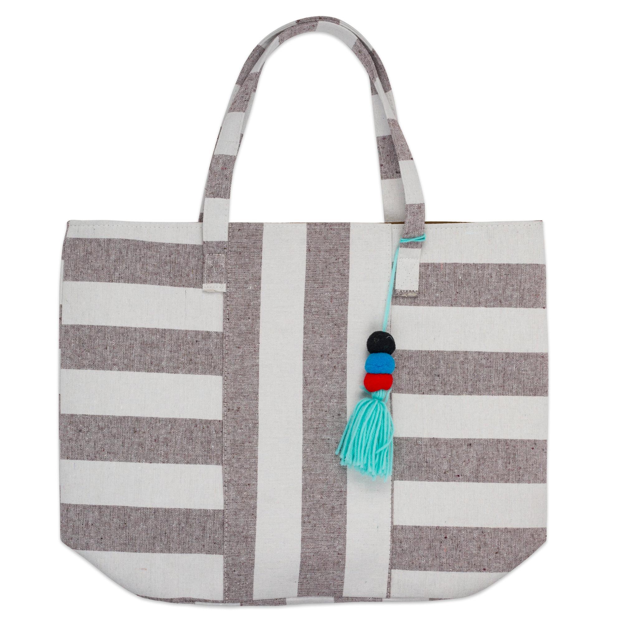Boho Tote Bag READY TO SHIP Beach Bag The Coral Large Boho Bag
