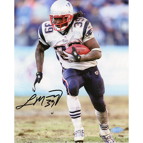 Steiner Sports Laurence Maroney Patriots Action Autographed