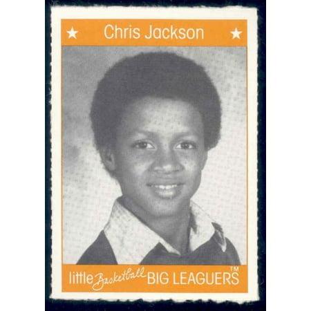 1991 Little Basketball Big Leaguers #15 Chris Jackson (Nuggets Bib)