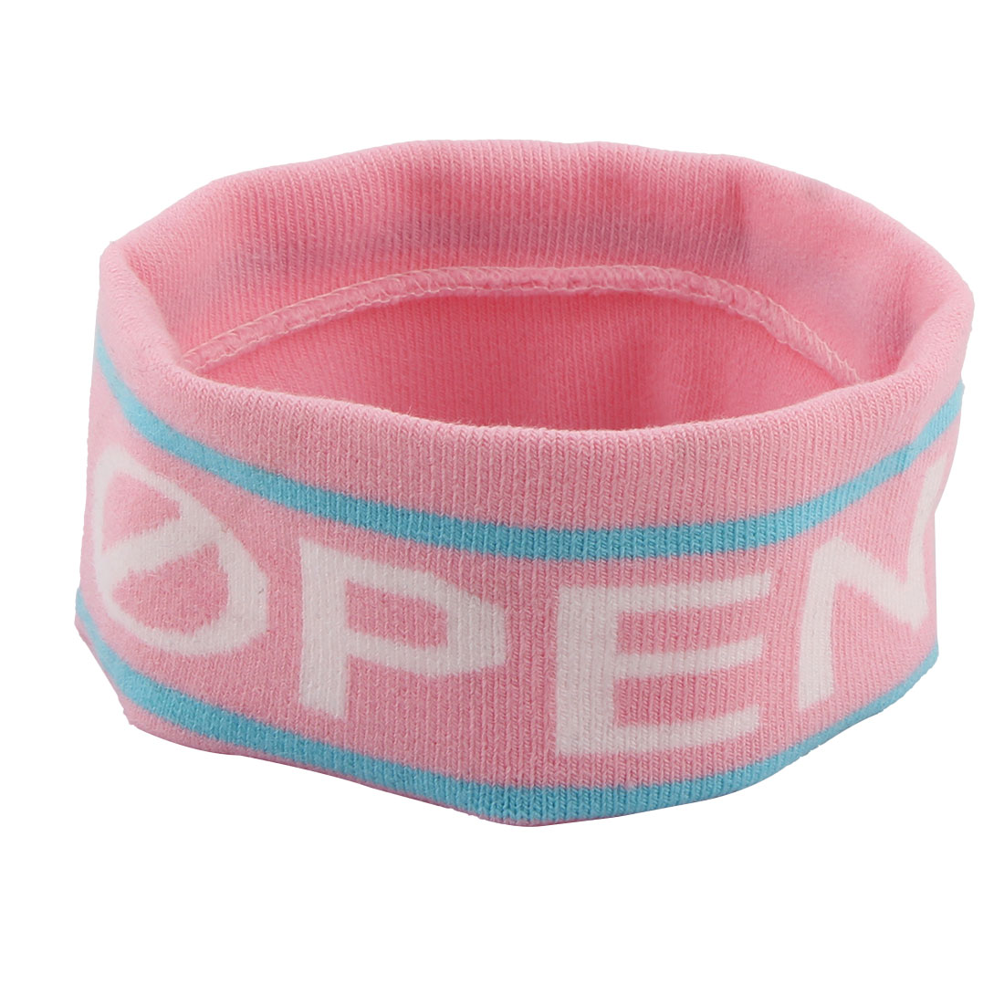 Yoga Volleyball Running Letter Print Elastic Hairstyle Sweatband Headband