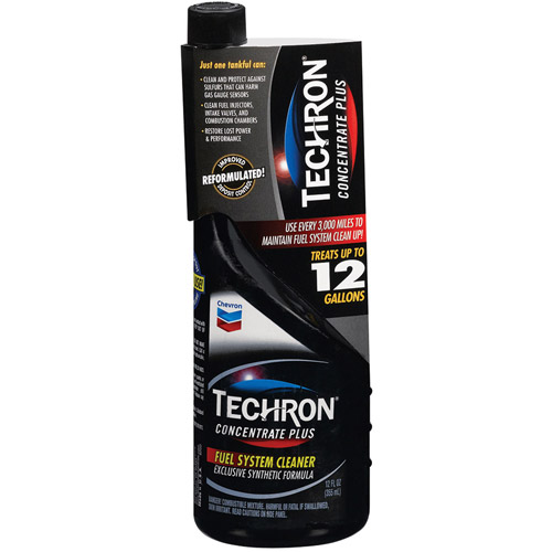 Chevron 00309 Techron Concentrate Plus Fuel System Cleaner, 12 Ounce