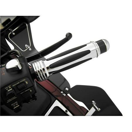 Muffler Insert - Show Chrome 52-712 Handlebar Dampers - Chrome with Carbon Fiber Insert