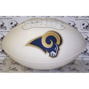 Creative Sports FB-RAMS-Signature St.  Louis Rams Embroidered Logo Signature Series Football