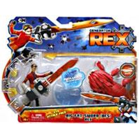Generator Rex Evo Attack Pack Rex Action Figure [Big Fat Sword