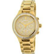Men's NY2395 Gold Stainless-Steel Quartz Dress Watch
