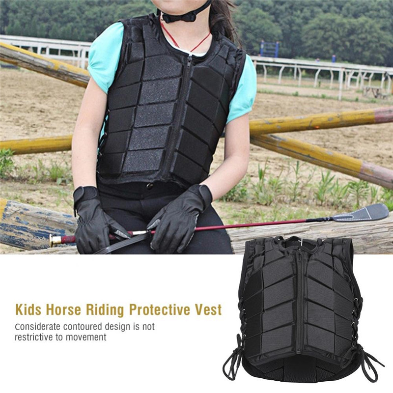 Children Riding Vest, Kids Horse Riding Vest, Impact Reduction Riding Jacket Vest, Comfortable Body Protector Horse... by Eb Network Technology