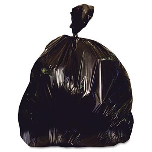 "Heritage X-liner Trash Bag - 45 Gal - 40"" X 46"" - 1.50 Mil [38 Micron] Thickness - Low Density - Resin - 100/carton - Black (x8046ak)"