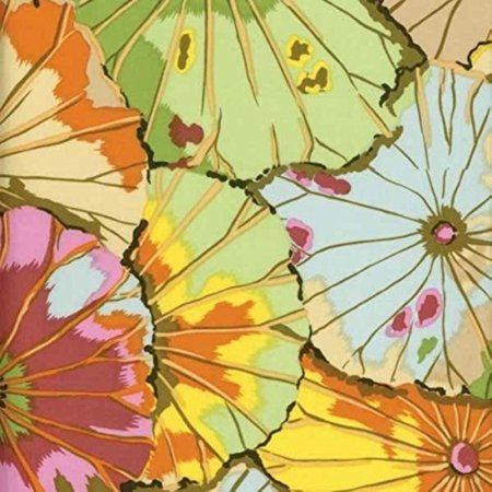 FreeSpirit Fabrics Kaffe Fassett Lotus Leaf Fabric by The Yard, Jade, Fabric type: 100% Cotton By Free Spirit Fabrics (Lotus Fabric)