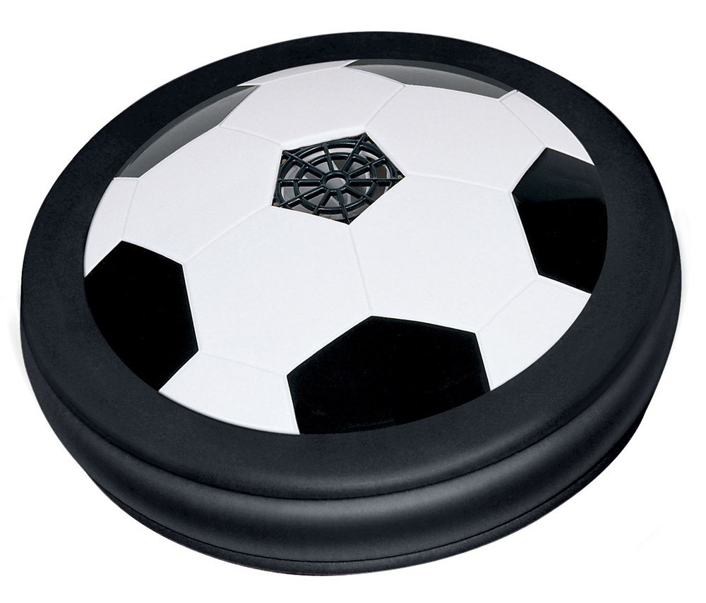"""Air Power Soccer Hover Disk, HOW IT WORKS: Powered by 4 """"AA"""" batteries (NOT INCLUDED),... by"""