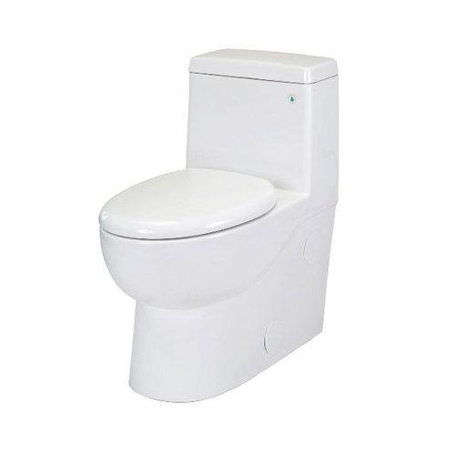 Pegasus Matera 1.28 GPF Elongated 1 Piece Toilet