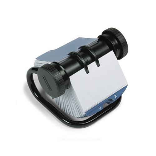 Rolodex Open Rotary Business Card File w/24 Guides ROL67236