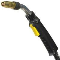 BERNARD Q1515AB8BT MIG Welding Gun,150 A,15 Ft. L,Tweco