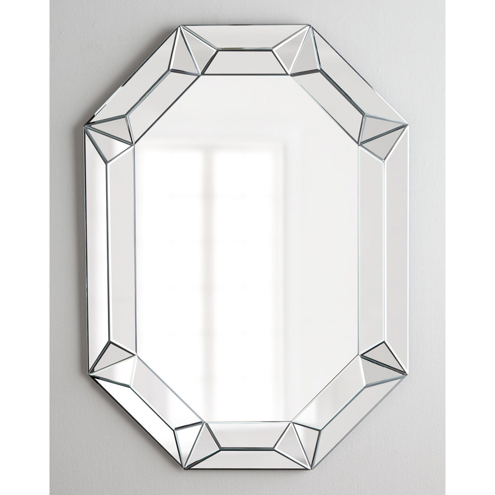 Image of Afina Modern Luxe Octagon Wall Mirror - 28W x 42H in.