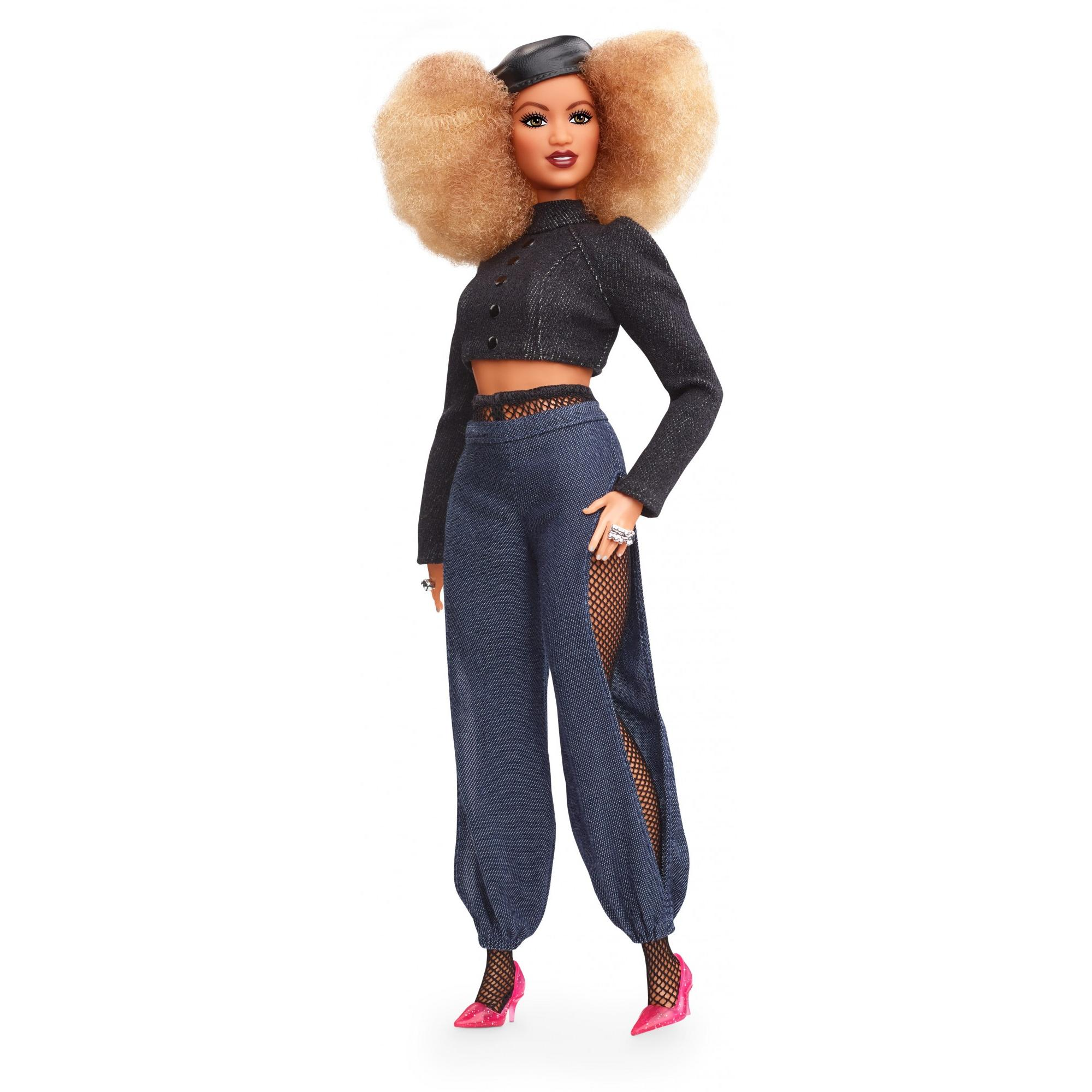 Barbie Styled by Marni Senofonte Doll Curvy with Blond Curly Hair