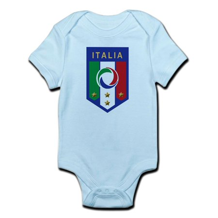CafePress - Italian Soccer Emblem Infant Bodysuit - Baby Light Bodysuit