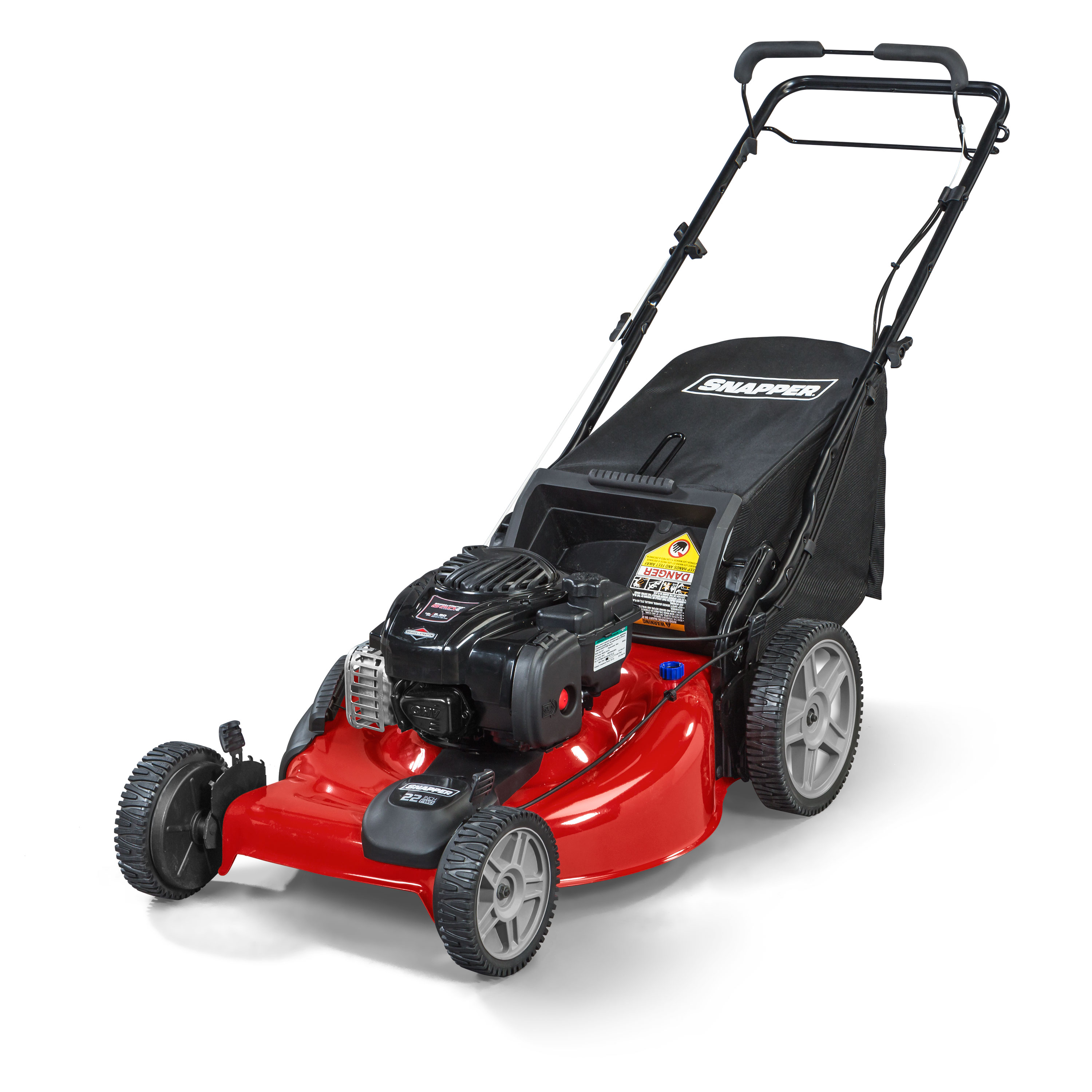 Snapper 22 in. 140cc Briggs & Stratton 3-in-1 High Wheel FWD Lawnmower