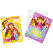 Dora & Friends Party Invite and Thank-You Combo Pack, 8ct