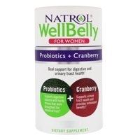 Natrol Natrol WellBelly Probiotics + Cranberry, 30 ea