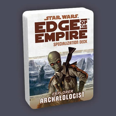 Archaeologist Specialization Deck Star Wars Edge Of The Empire Rpg Fantasy Flight Games
