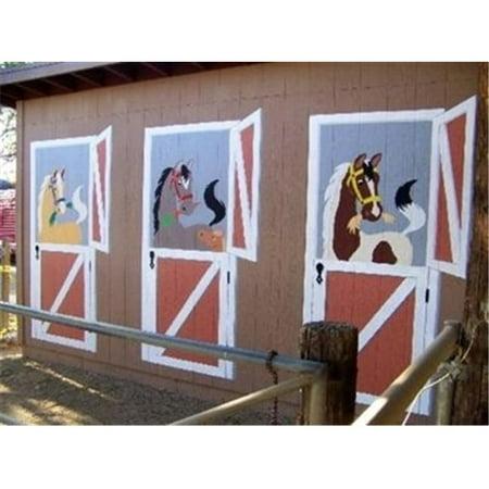 Elephants on the Wall 5-1323 Neigh..bors - Paint It Yourself