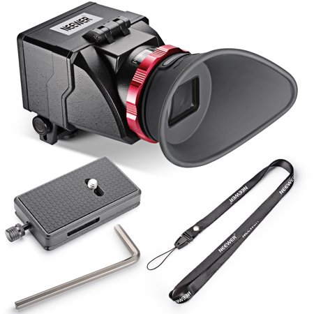 "Neewer S6 3X Optical Magnification Viewfinder for 3""/3.2"" LCD DSLR Cameras"