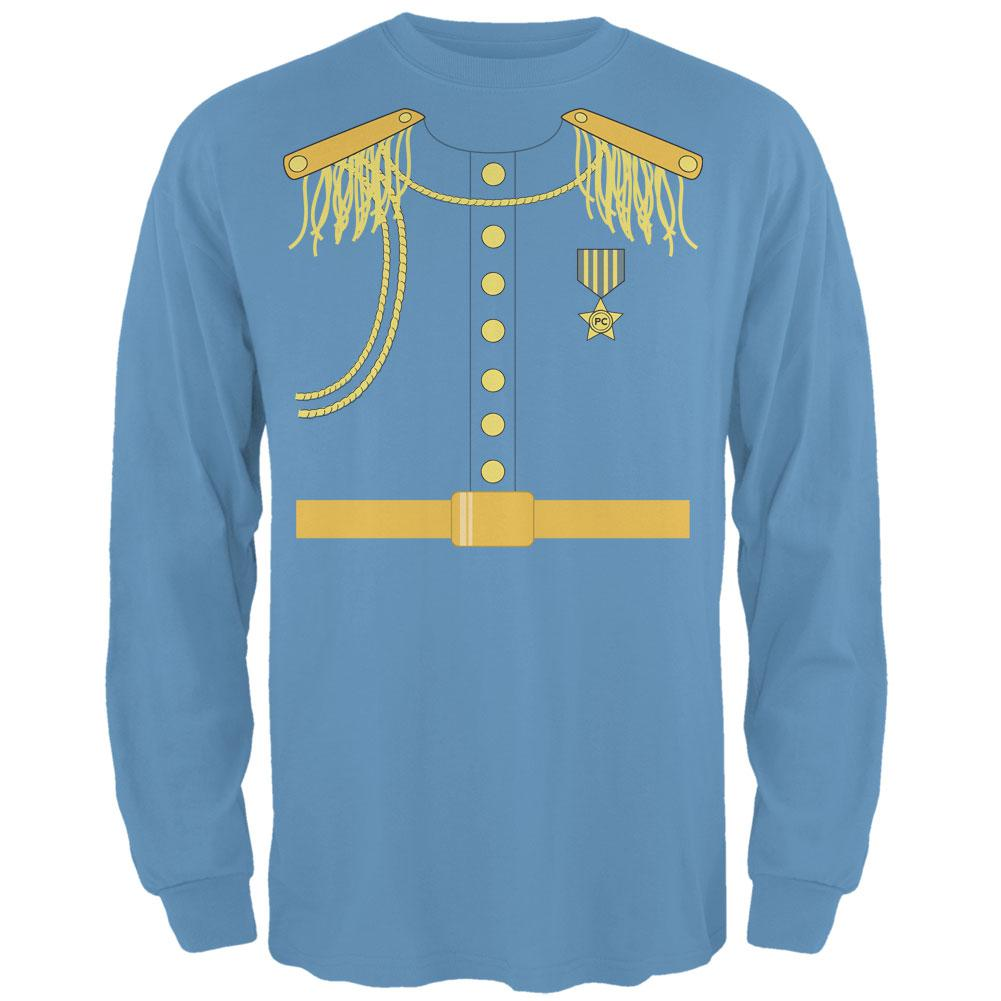 Prince Charming Costume Carolina Blue Adult Long Sleeve T-Shirt