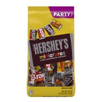 Hershey's Miniatures, Assorted Chocolate Candy, 35.9 Oz.