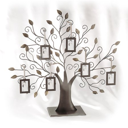 Family Tree w/6 Hanging Picture Frames - Family Tree w/6 Hanging ...