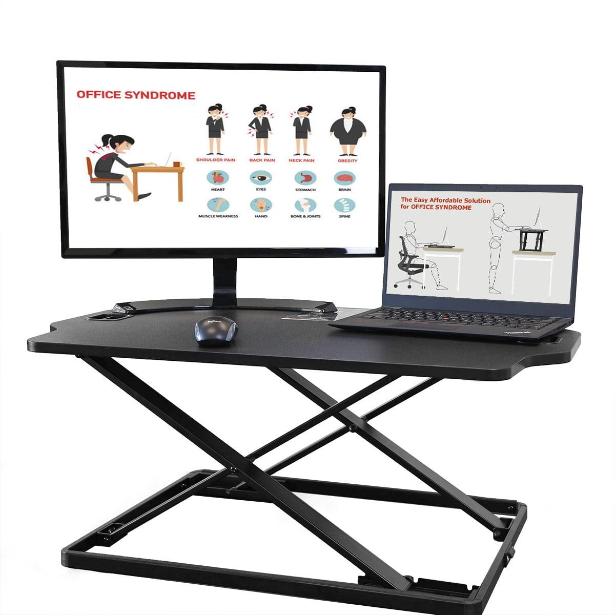 "Advn Up 31""X21"" Standing Desk Converter Height Adjustable Sit Stand Up Workstation by Advn Up"