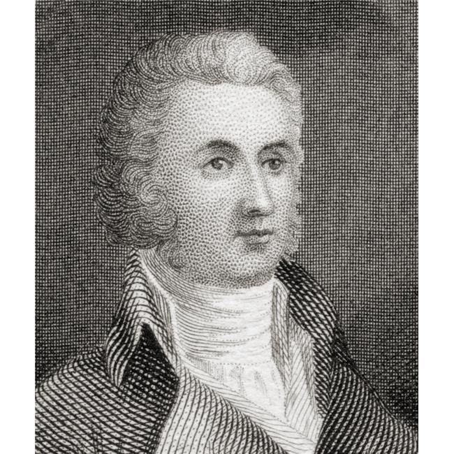 Posterazzi DPI1872392LARGE William Richardson Davie 1756 to 1820 Governor of North Carolina From 1798 to 1799 Poster Print, 26 x 30 - Large - image 1 of 1