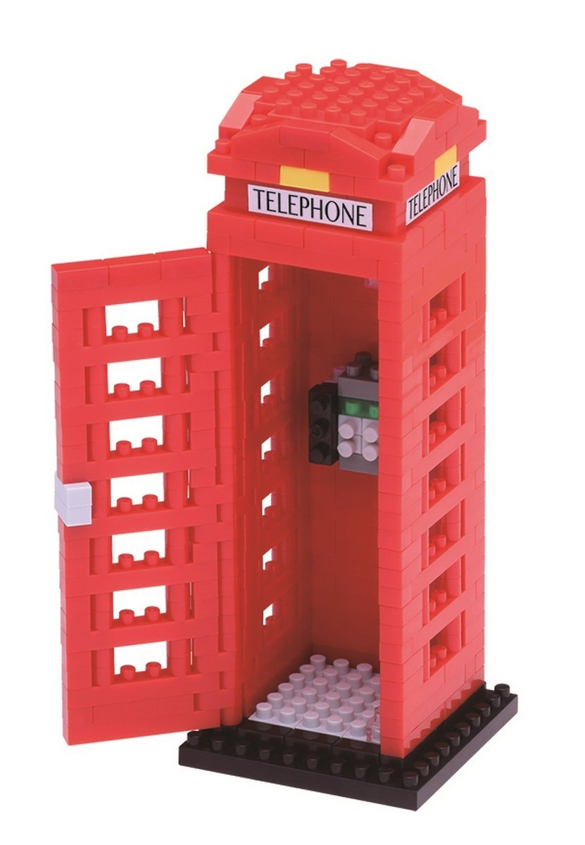 Telephone Box Building Kit, Before the Cell phone was the London phone booth, on almost... by